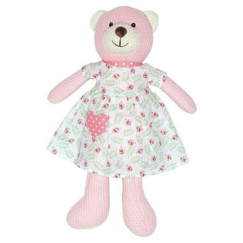 Greengate Teddy Lily petit white w/dress